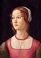 Domenico ghirlandaio, ritratto di giovane donna, lisbona.jpg