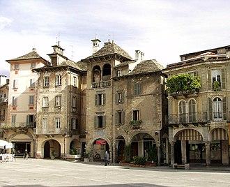 Province of Verbano-Cusio-Ossola - Image: Domodossola centro storico