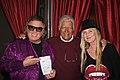 Don McLean AlexTrebek at Trebek's annual Christmas Party.jpg