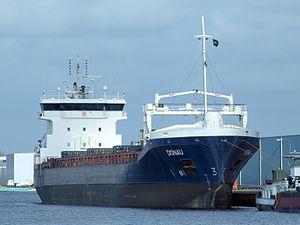 Donau - IMO 9385908 at Port of Amsterdam.JPG