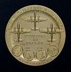 Doolittle Raiders Congressional Gold Medal (27619760504).jpg