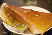 Dosa and ghee
