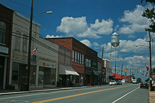 Liberty, North Carolina Town in North Carolina, United States