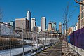 Downtown Minneapolis during Super Bowl LII - The Commons park closure and cement barricades (39985206881) (2).jpg