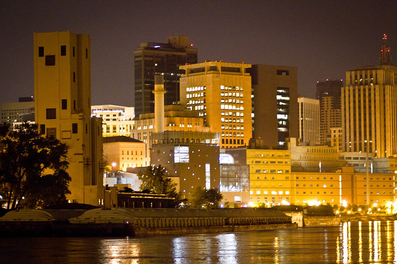 File Downtown St Paul Minnesota Skyline River 5800232347