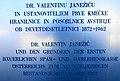 Dr. Valentin Janežič Gedenktafel, Sankt Jakob im Rosental, Kärnten.jpg