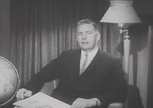 Harding University - Dr. Ganus as Vice-President in 1962.