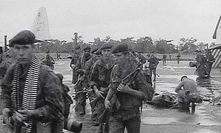 Belgian paratroopers on Stanleyville airfield shortly after the operation Dragonrouge1.jpg