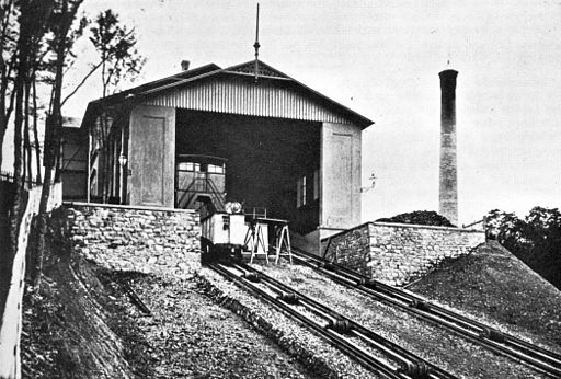 Drahtseilbahn Leopoldsberg-Bergstation 01-1873