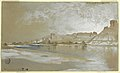 Drawing, Green River from the Ferry, Wyoming Territory, September 11, 1889 (CH 18189665).jpg