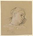 Drawing, Head of an Italian girl, ca. 1885 (CH 18404365).jpg