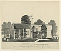 Drawing, Oddington Church Yard, Gloucestershire, North East View, 1843 (CH 18604893).jpg