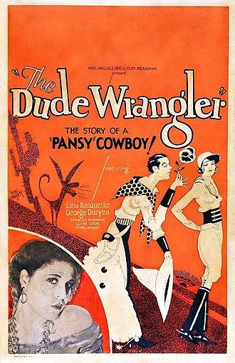 Tom Keene (actor) - Poster for The Dude Wrangler (1930)