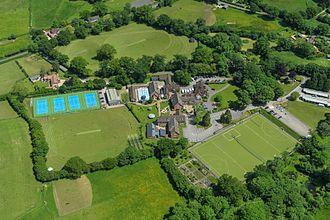 Dumpton School - Aerial view of the 26 acre site of Dumpton School