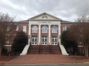 E. B. Hamrick Hall - Image: E.B. Hamrick Hall