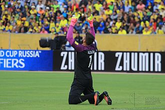 Alisson Becker - Alisson playing for Brazil in 2016
