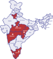 ESAF Geographical Coverage in India.png
