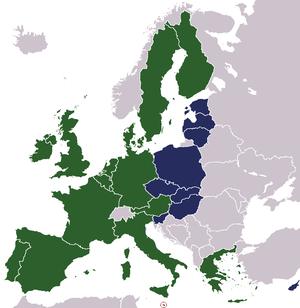 Страна член ес входящая шенгенскую зону