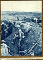 E R Hudson - Making a trench near Martinpuich - 1915.jpg