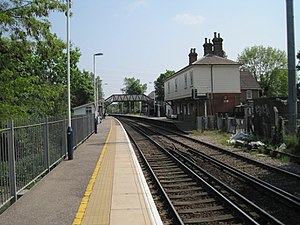 Earley railway station - Image: Earley railway station geograph.org.uk 3292600