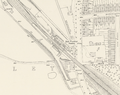 East Finchley station on OS Map, 1894.png