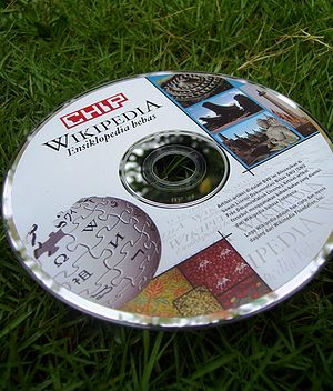 Indonesian Wikipedia - Indonesian Wikipedia Complimentary DVD distributed by Chip magazine on their August 2008 edition