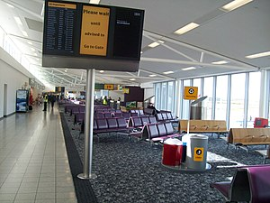 Edinburgh Airport - Departure gate area