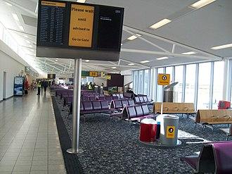 Edinburgh Airport - Departure gate area