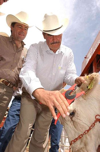 Eduardo Bours Vicente Fox