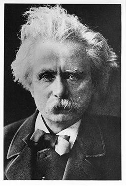 Edvard Grieg portrait - 13990431301