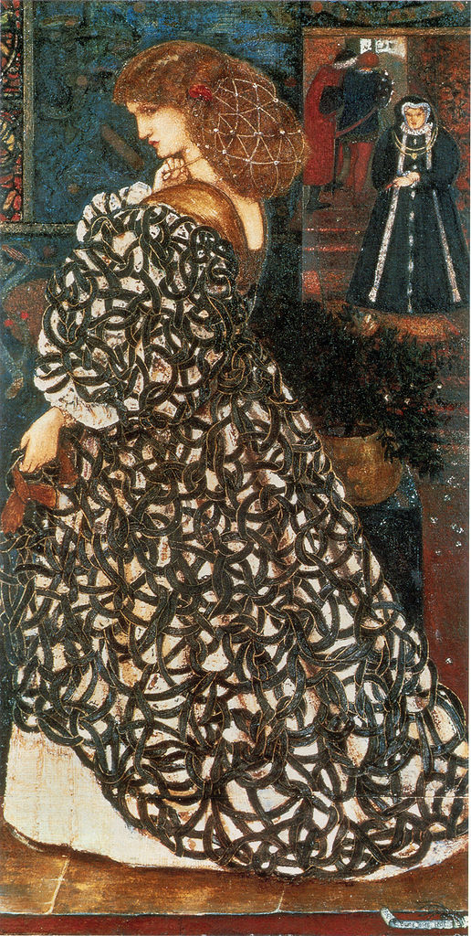 Sidonia von Bork di Edward Burne-Jones - Lande Incantate