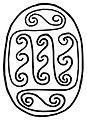 Egyptian - Scarab with Geometric Spirals - Walters 4223 - Bottom.jpg