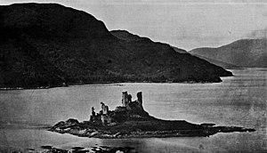 Eilean Donan Castle, pre 1911