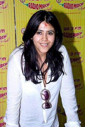 Ekta Kapoor - Kapoor in 2012