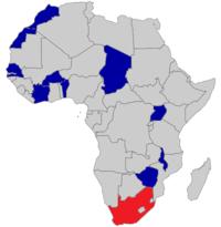 Eland operators map