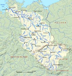 Fiume Elba Cartina Geografica.Elba Fiume Wikipedia