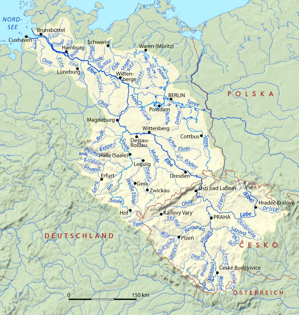Elbe basin