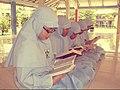 Elementary students reciting Al Quran in school, Banda Aceh; January 2013.jpg