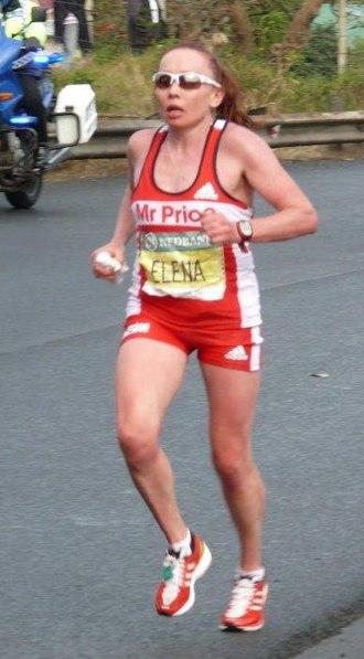 Comrades Marathon - Image: Elena Nurgalieva, Comrades 2012