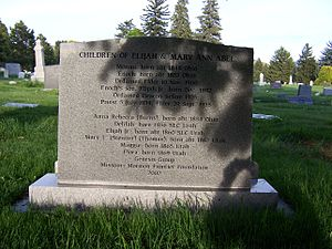 Elijah Abel - Image: Elijah Abel Grave Back