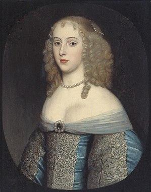 Henry Bennet, 1st Earl of Arlington - Arlington's wife, Elisabeth van Nassau-Beverweerd