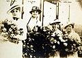 Elizabeth Kolb and launch party of USS Pennsylvania (BB-38), Newport News, Virginia, 1915 (27898110120).jpg