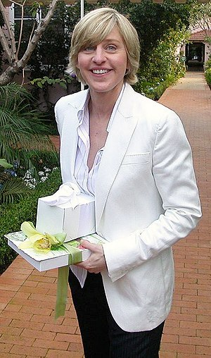 Ellen DeGeneres at Hotel Bel Air in Los Angele...