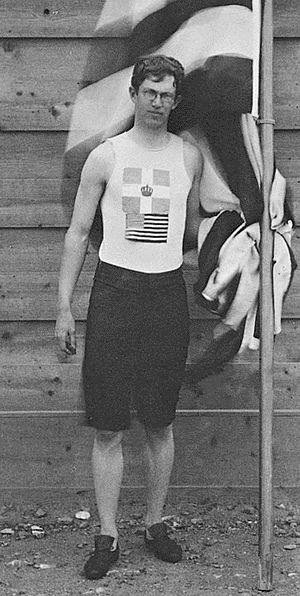 Ellery Harding Clark - Ellery Clark in 1896