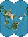 Ellipsoidal transverse Mercator projection SW.jpg