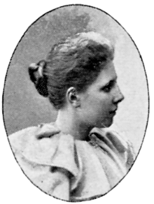 Elsa Beskow in 1901