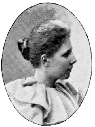 Elsa Beskow - Elsa Beskow in 1901