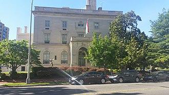 Embassy of Hungary in Washington, D.C. - Image: Embassy of Hungary