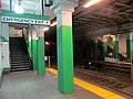 Emergency exits from Arlington inbound platform, December 2015.JPG
