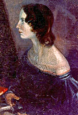 A portrait of Emily, by Branwell